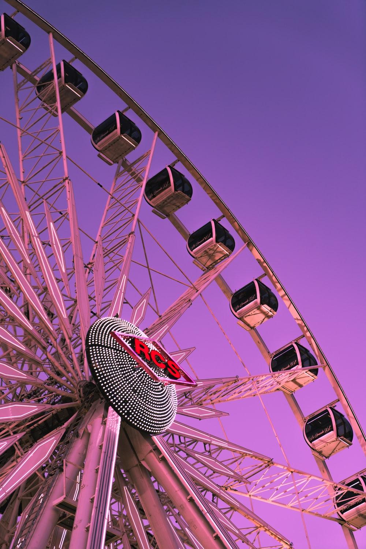 low-angle photo of RCS Ferris wheel