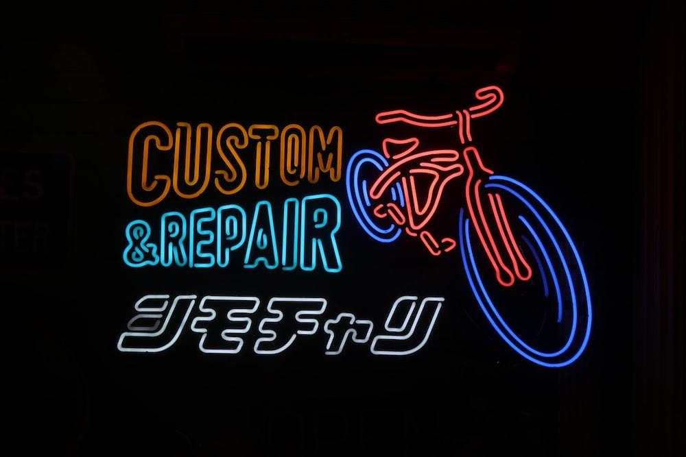 Custom & Repair NEON sign