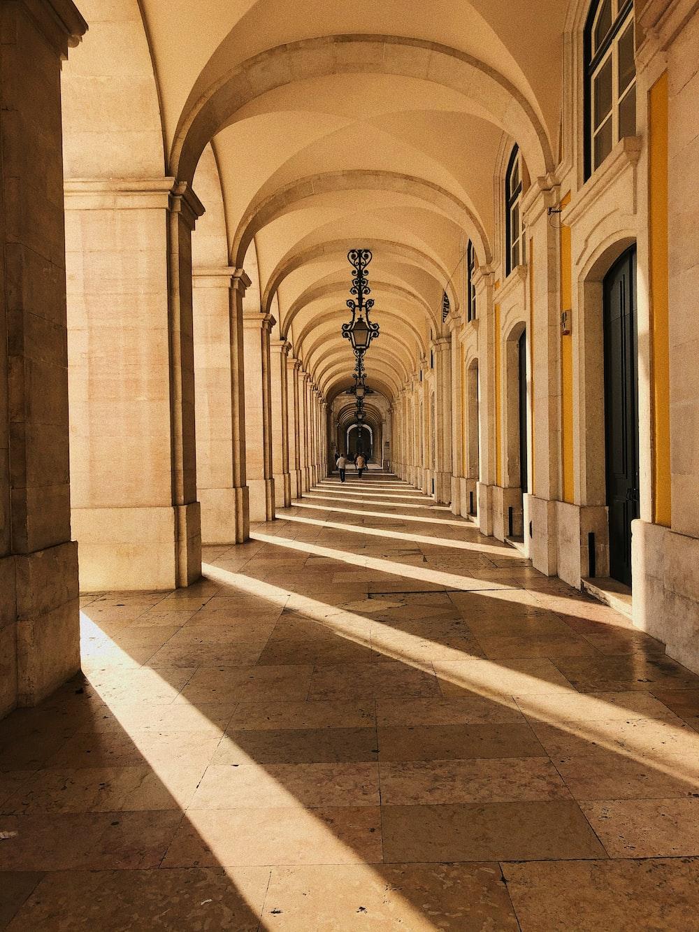 hallway during daytime