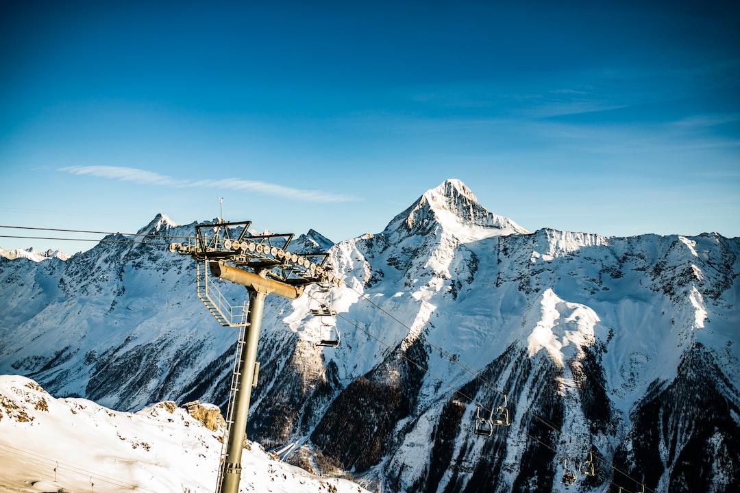 Mountains & Platter Lift - Loetschental(Lötschental, VS, Wallis, Switzerland / Schweiz)