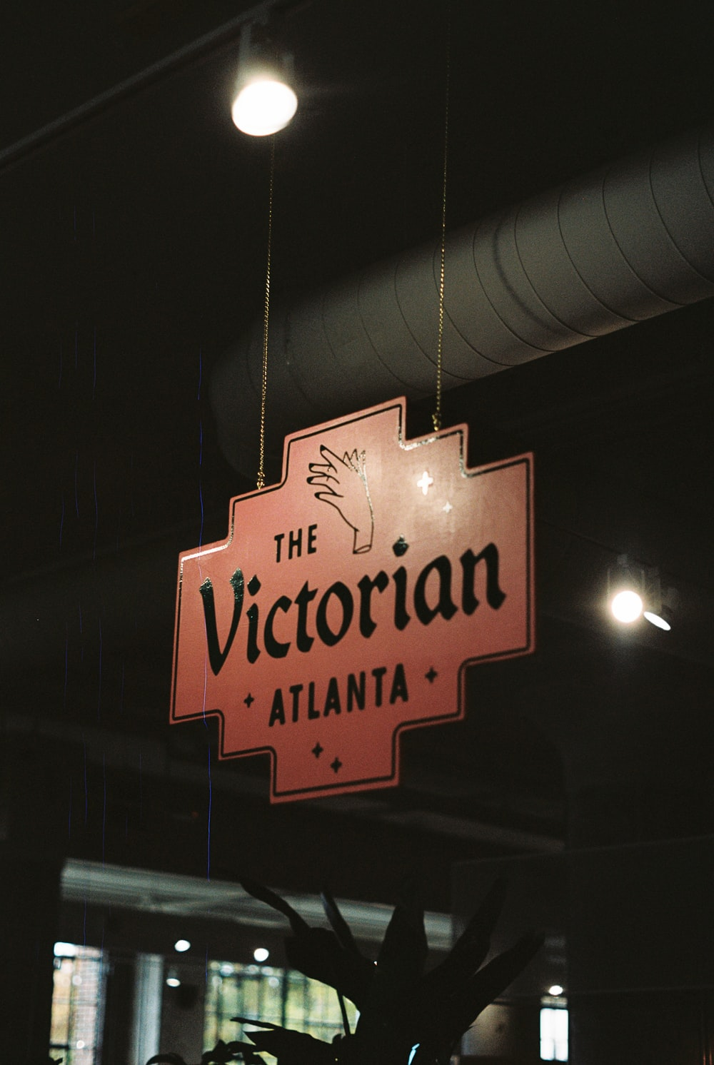 The Victorian Atlanta sign