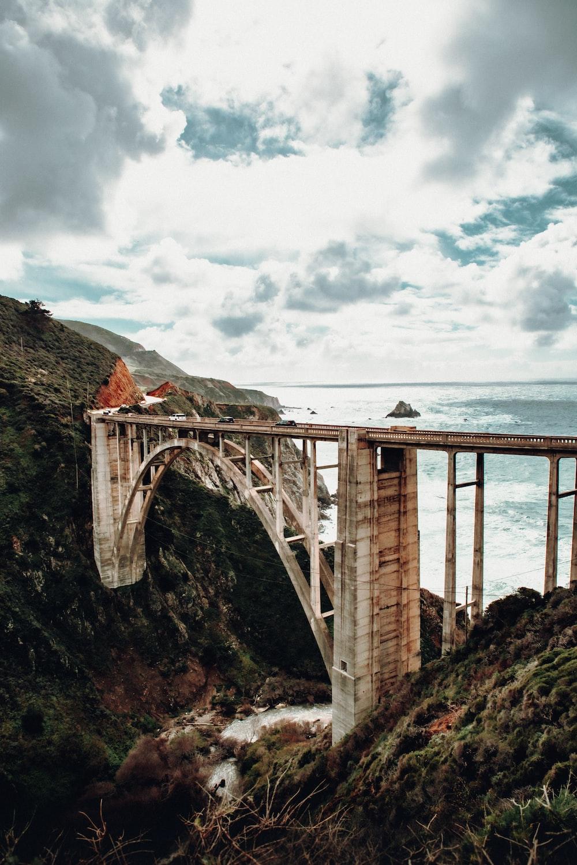 bridge near sea