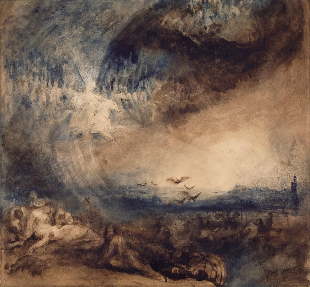 Heaven Opened, 1850 By George Jones - unsplash