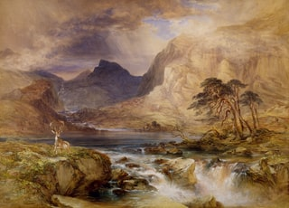 Near Brodick, Isle Of Arran, Scotland, 1849-1851 by William Andrews Nesfield