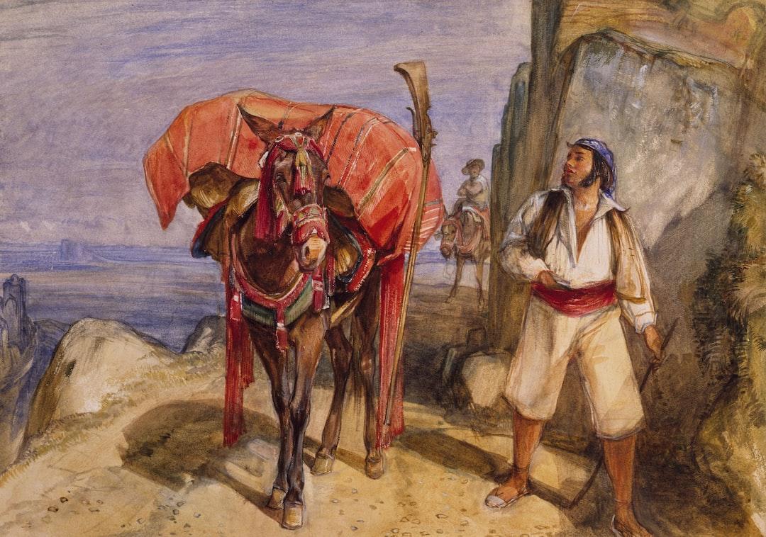Mule and Muleteer, 1832-1834 by John Frederick Lewis
