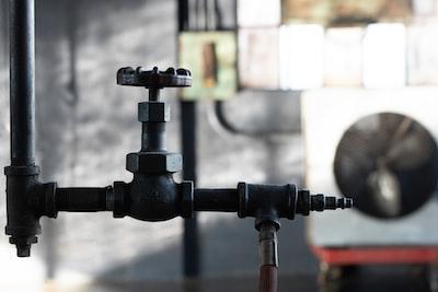 black valve with pipe kansas zoom background