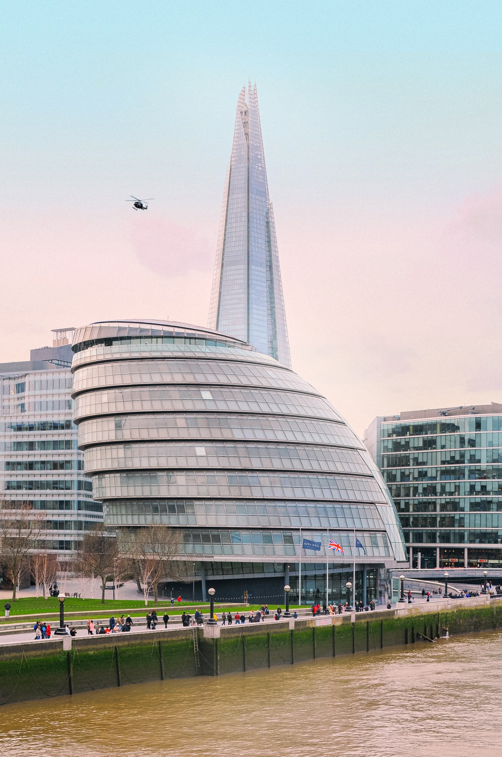 The Shard in London during daytime