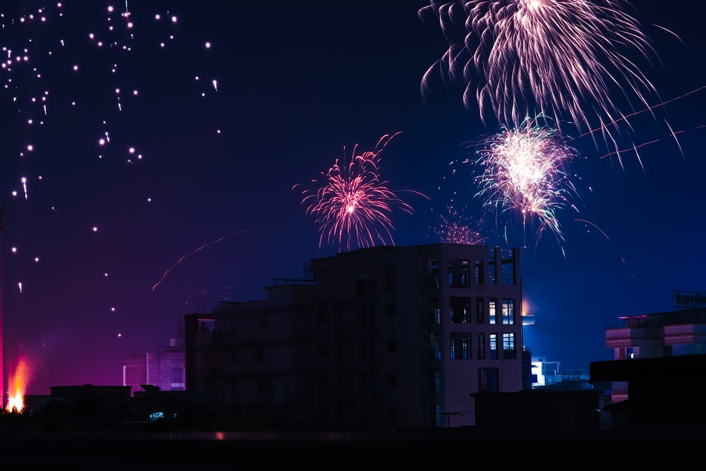 firework display photograph