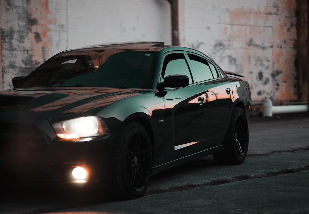 Turned On Black Sedan In the Road - unsplash
