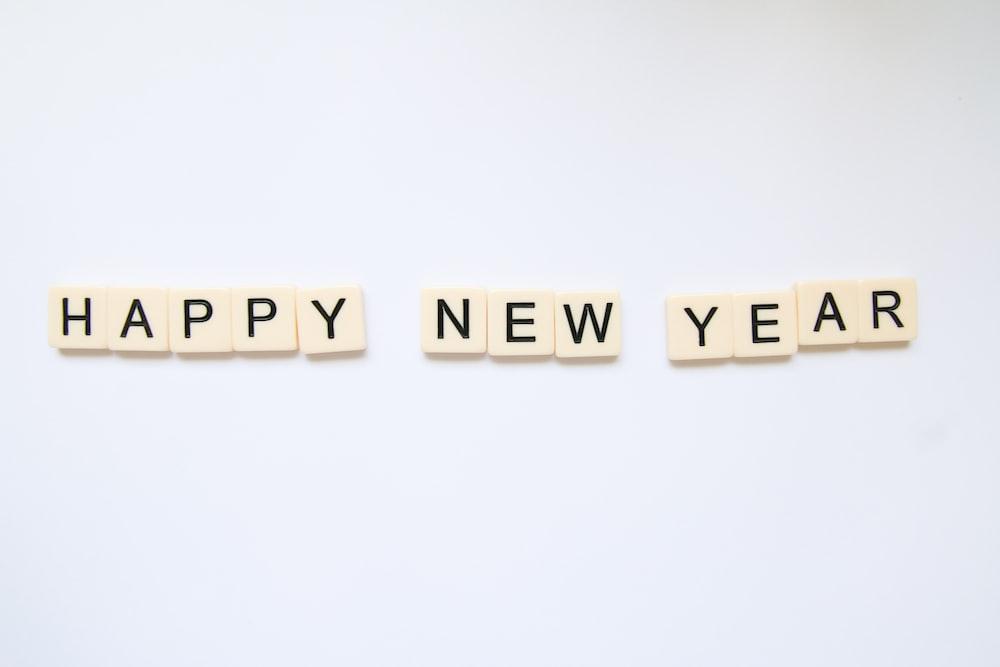 Happy New Year art