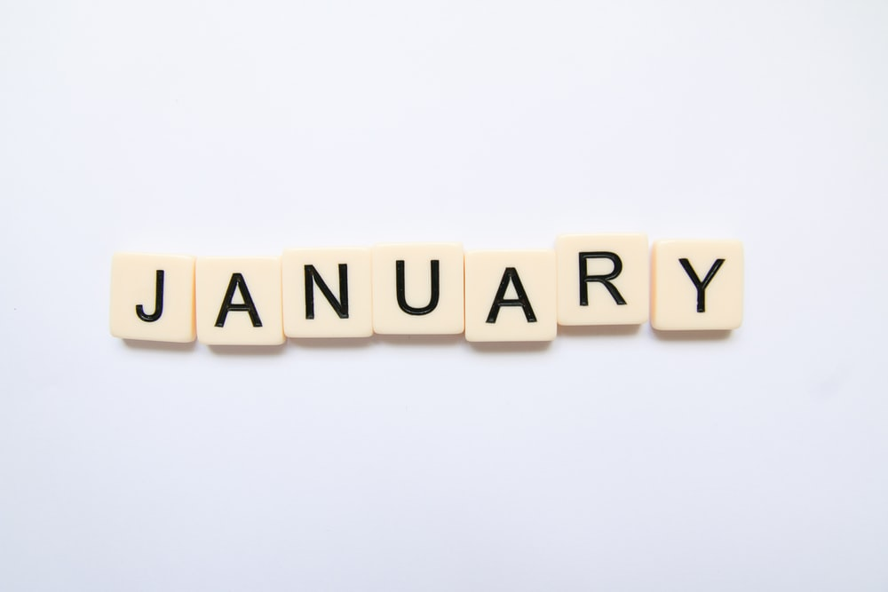 January scrabble words