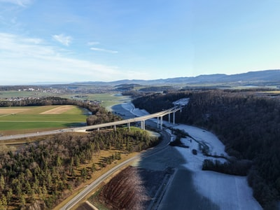 aerial photography of bridge during daytime