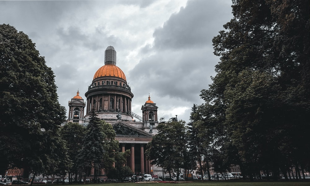 brown and gray dome building during daytime