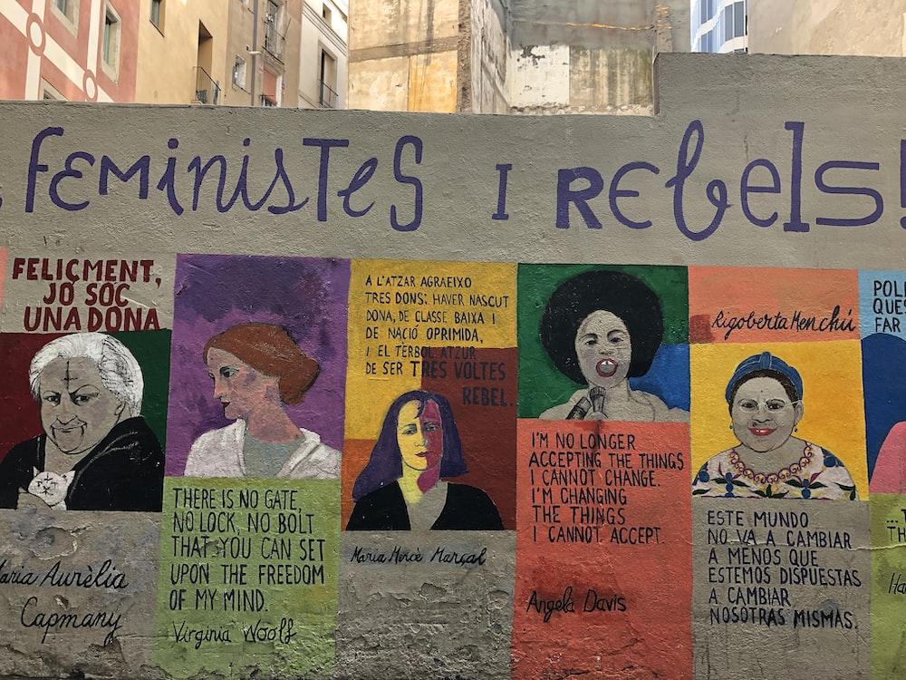 feministes I rebels! mural