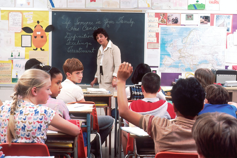 Учительница языка