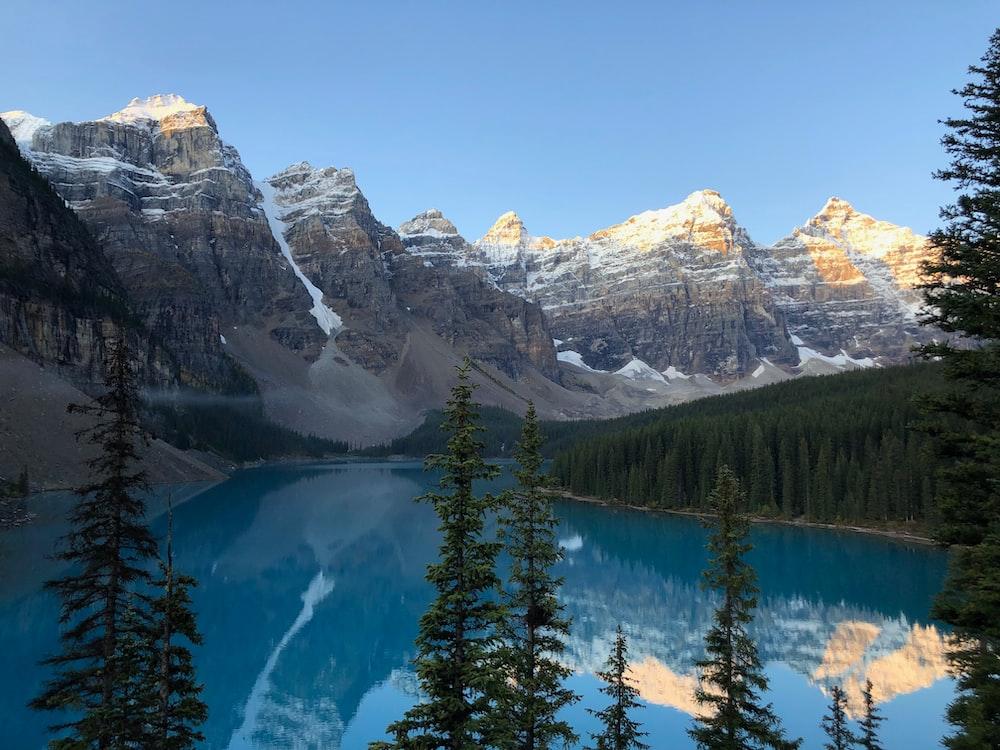 photography of lake during daytime