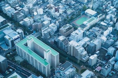 Tokyo Birdeye View