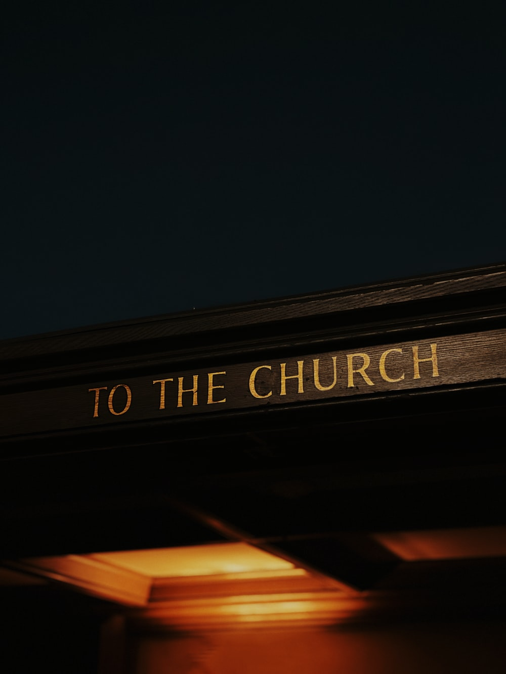 to the church text