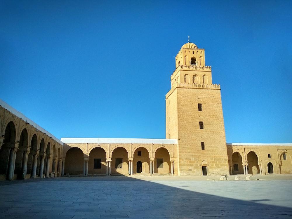 Great Mosque of Kairouan in Tunisia