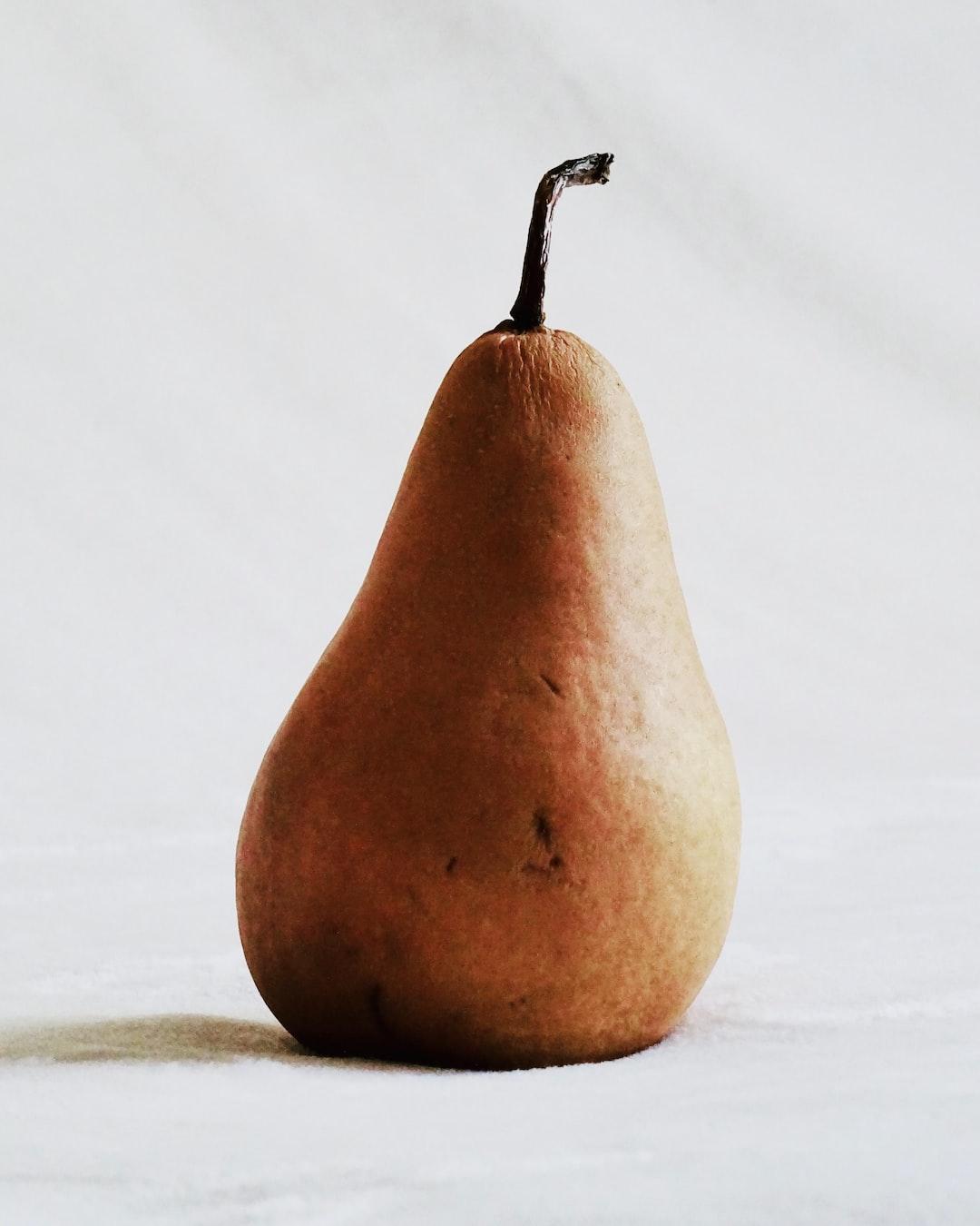 Bosc pear.