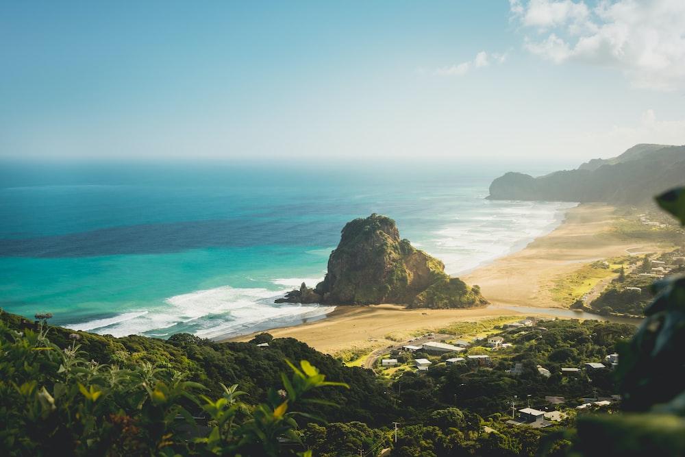 overlooking island