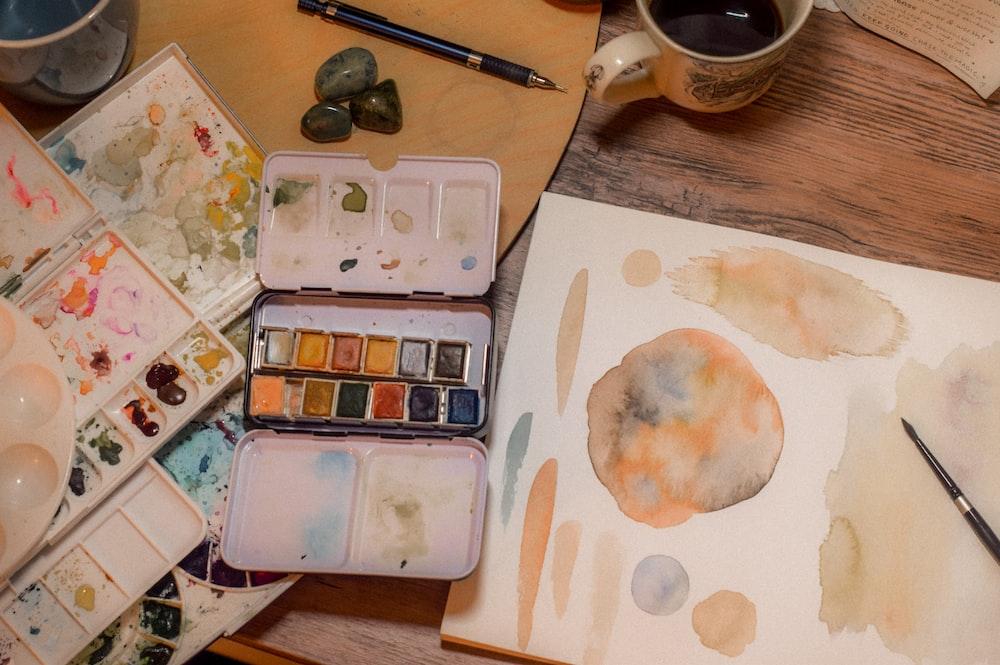painting palette lot