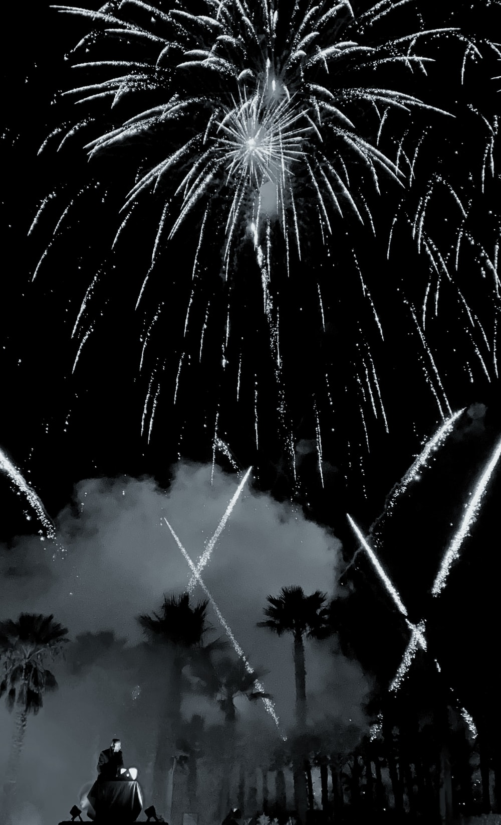 burst of fireworks