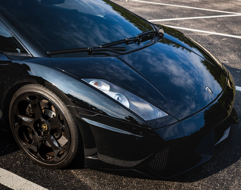 black supercar
