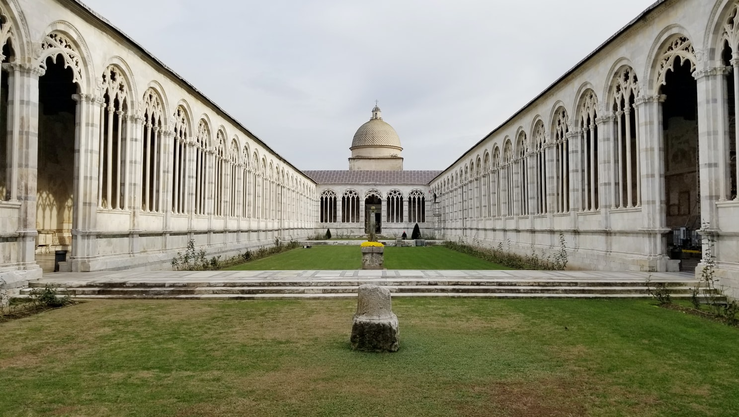 a classical building in Pisa, Italy