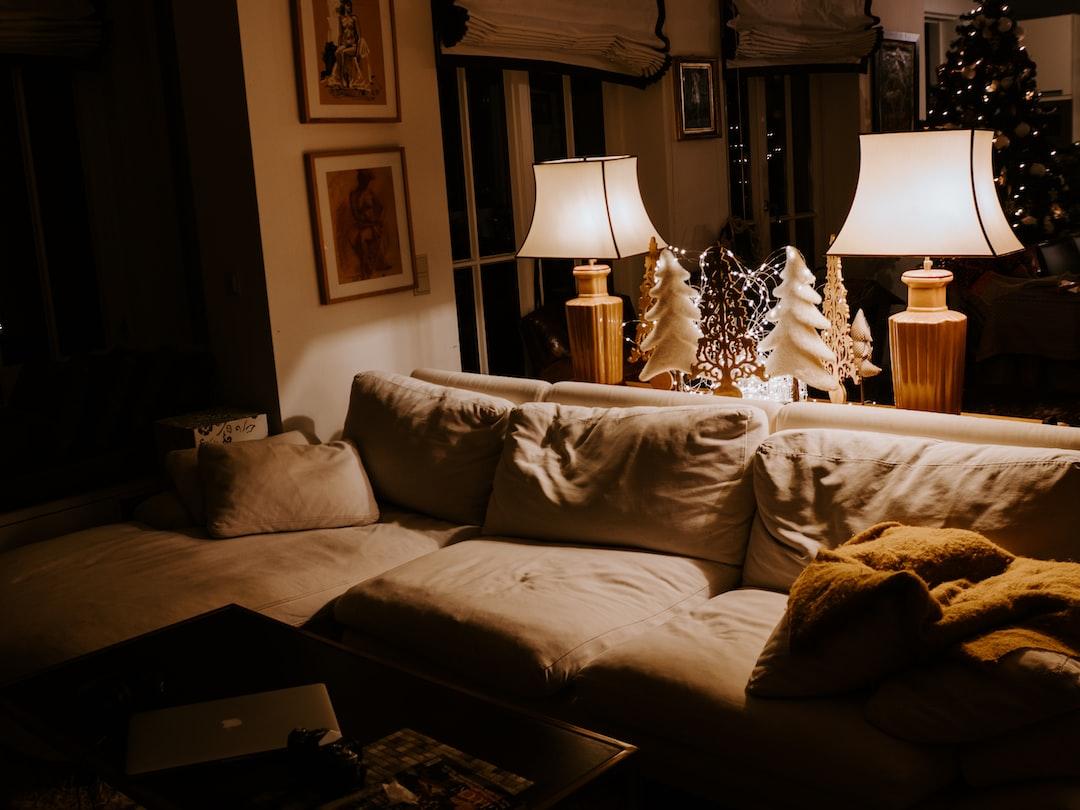 Brown Sofa - unsplash
