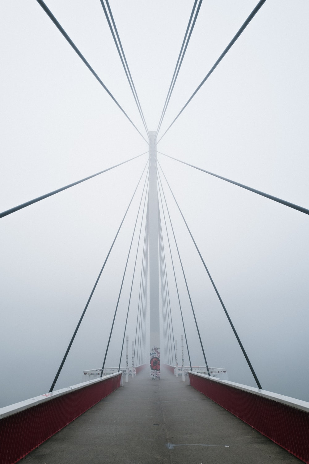 portrait photography of a bridge