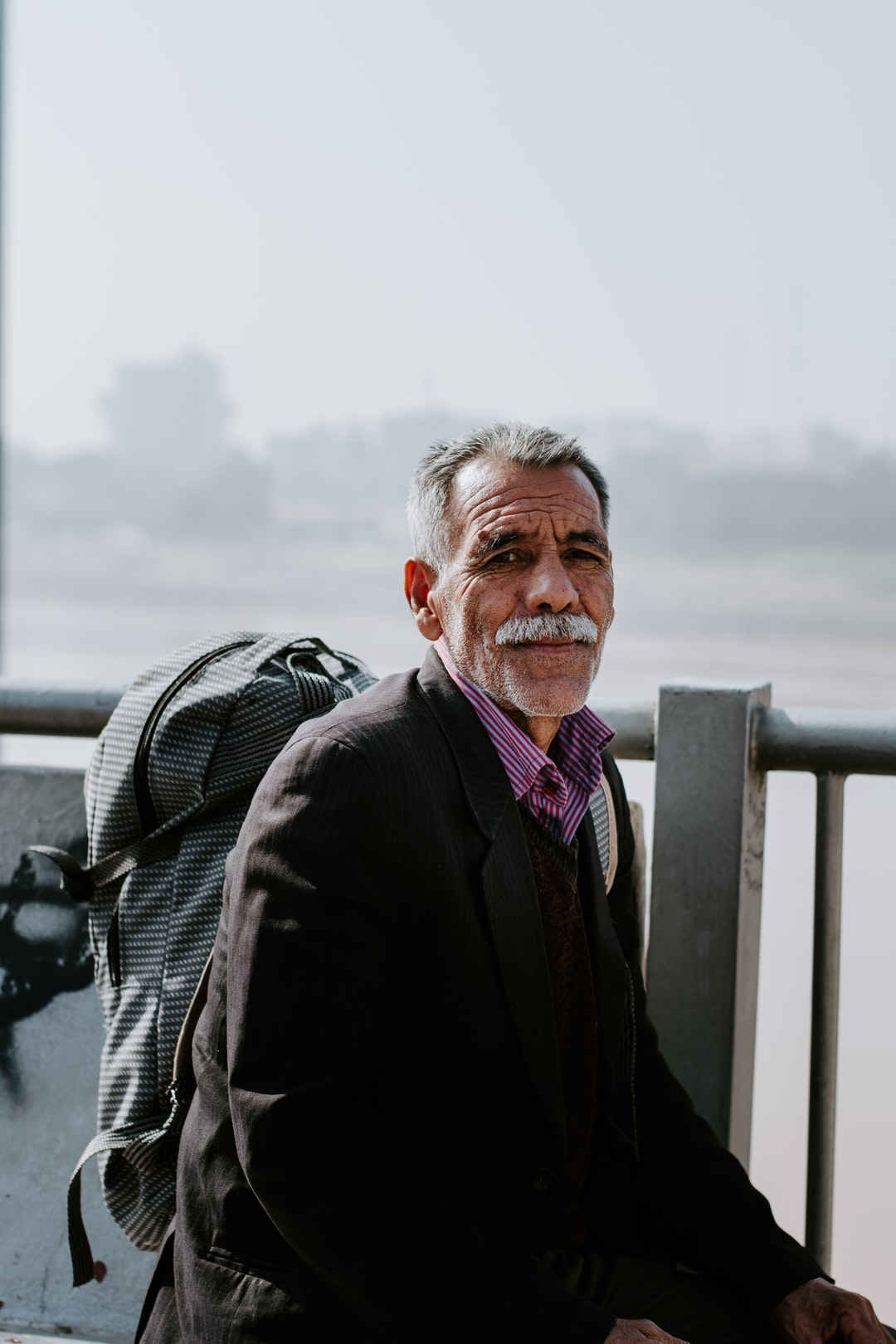 A traveler from Mashhad with untold stories from the past
