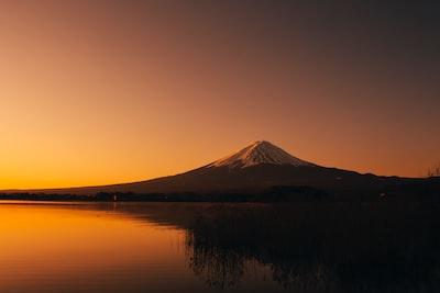Mt Fuji at Dawn