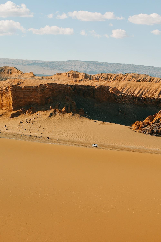 photography of desert range during daytime