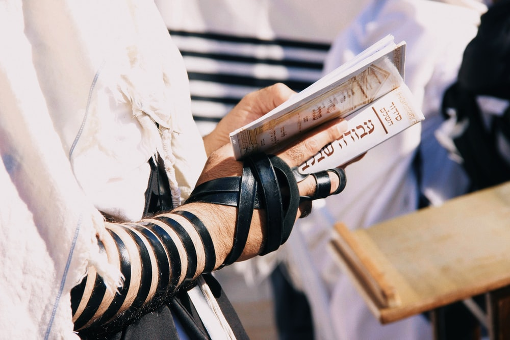 shallow focus photo of person holding book