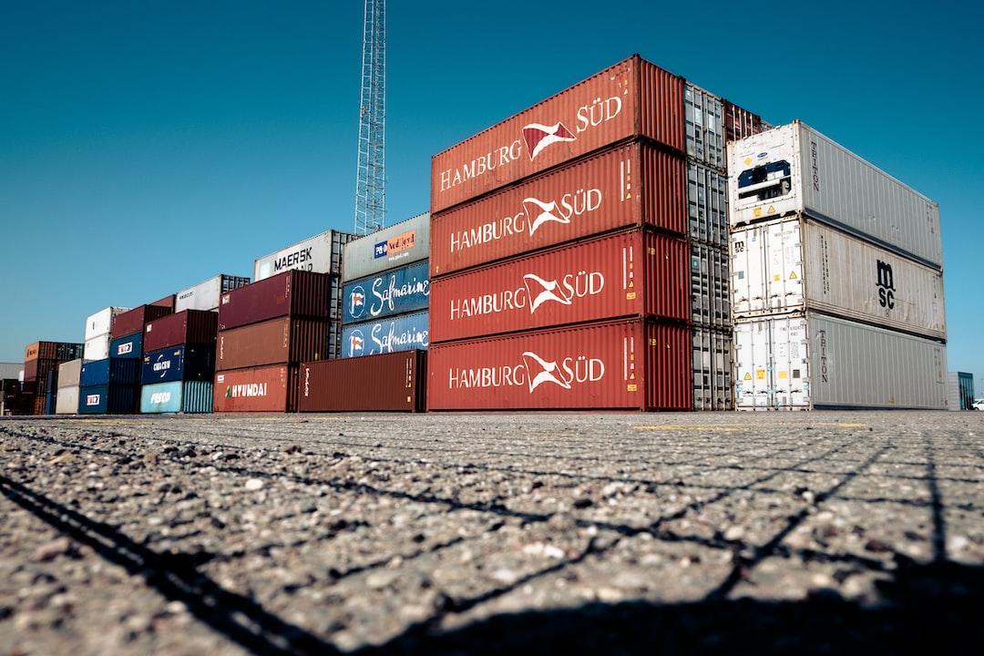 Shipping containers in Copenhagen's Nordhavn