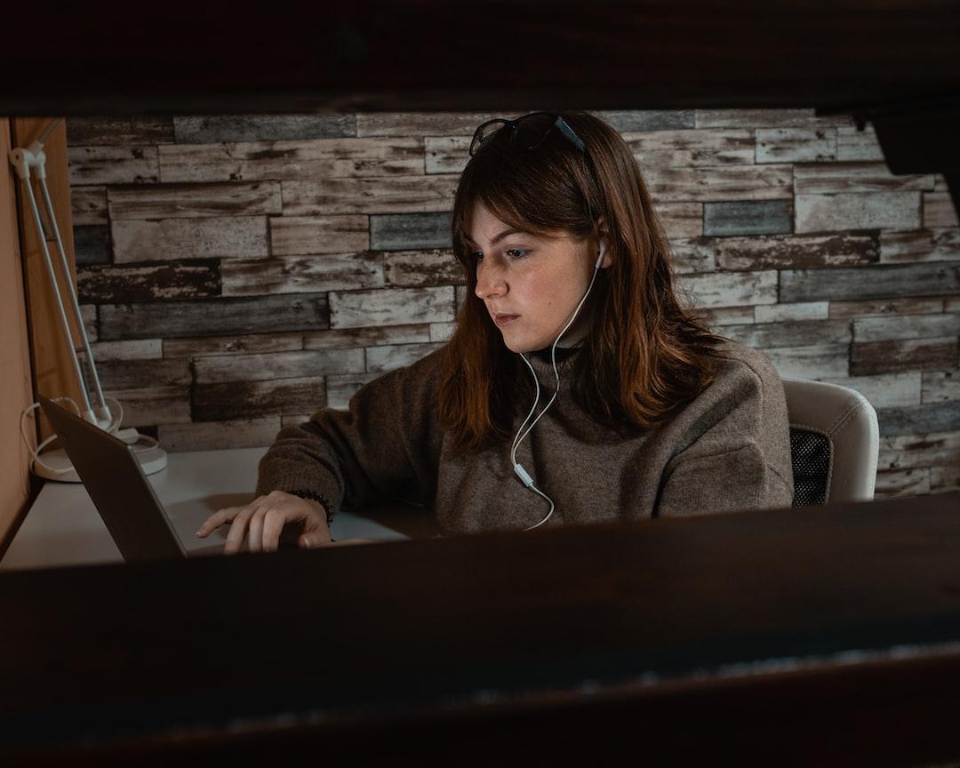 A Friend Working On Her Novel - unsplash