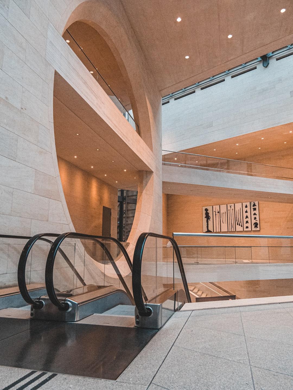 Architecture in a Berlin museum