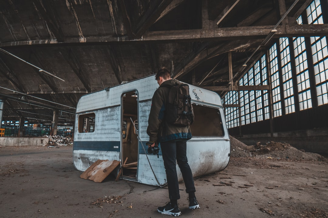 Abandoned Caravan Found In An Old Sncf Spot - unsplash