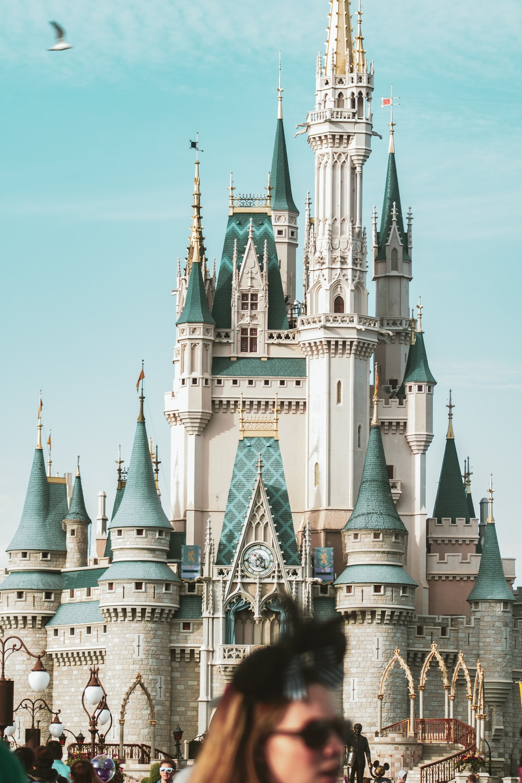 people walking near Disney World Cinderella Castle during daytime