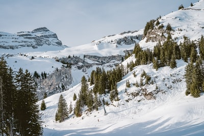 Switzerland mountains in winter.  by Nader Arman design-avantgarde.com