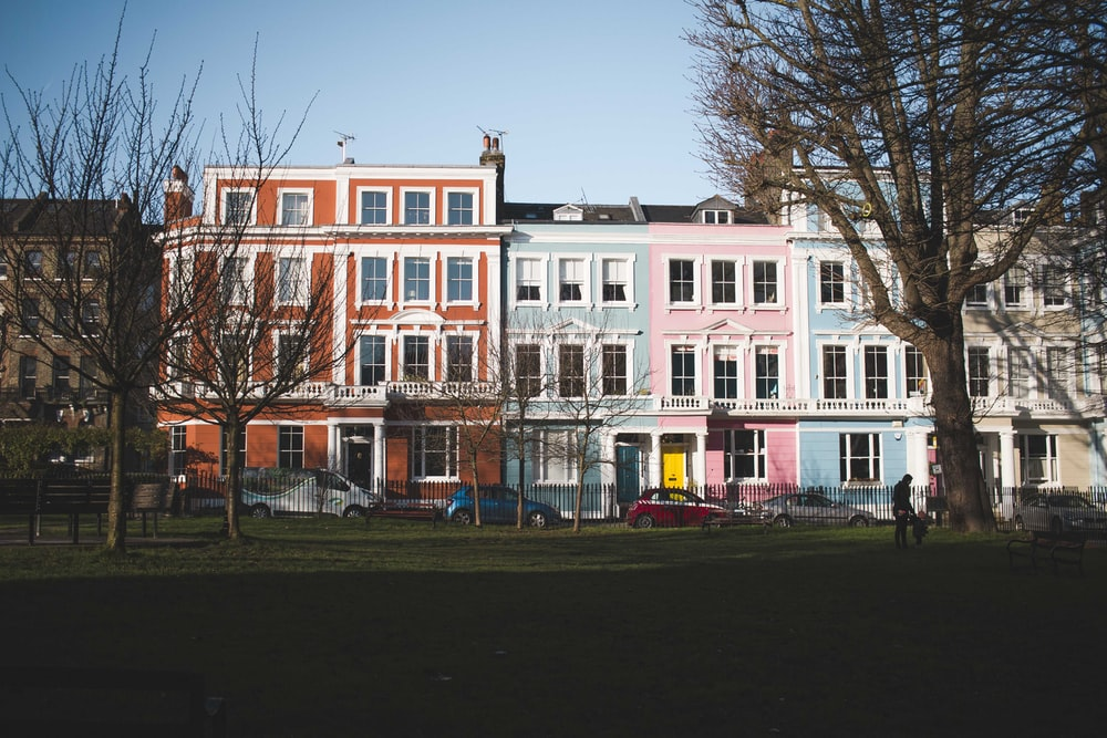 photography of multicolored building during daytime