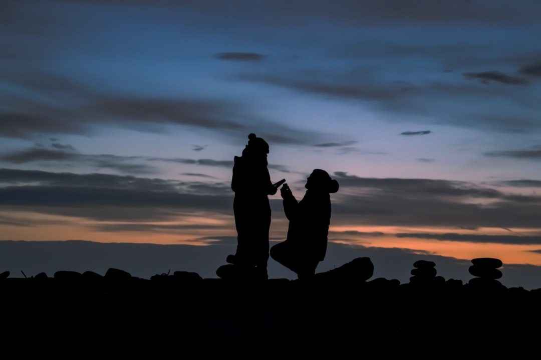 A Real-Life Proposal At Sunrise On Holy Island - unsplash