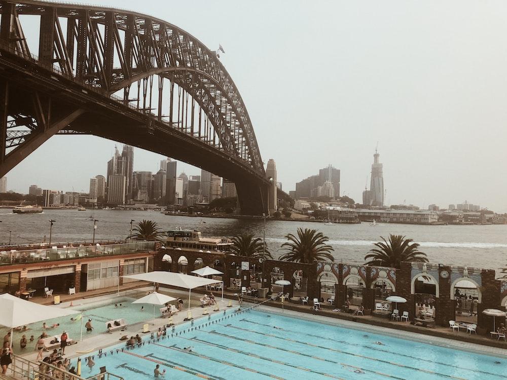 people on swimming pool photo – Free Building Image on Unsplash