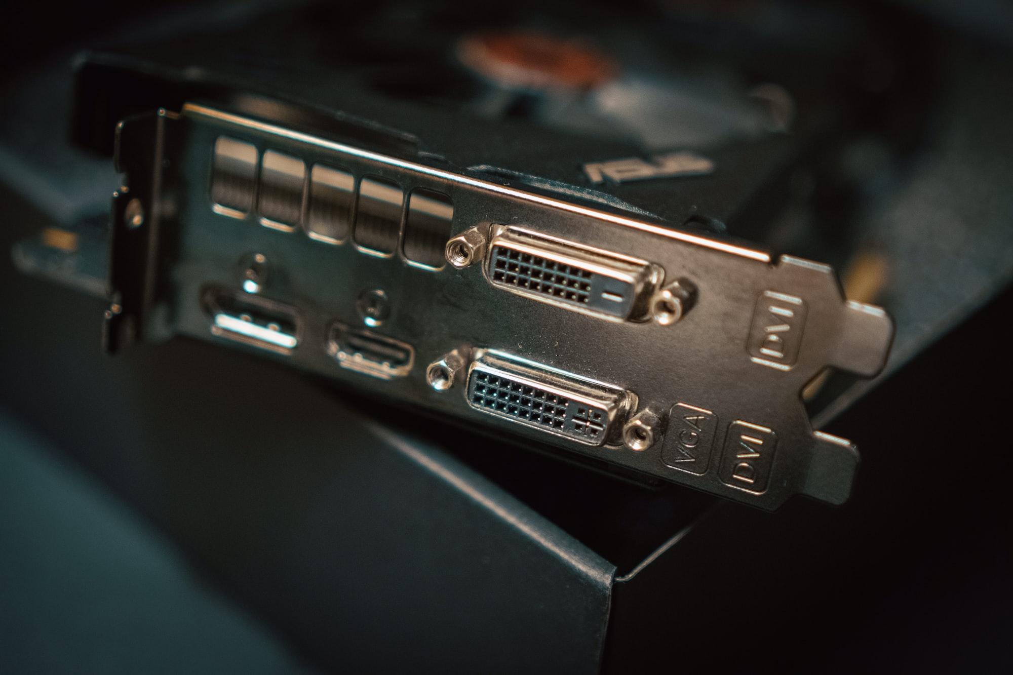GPU, Graphics card.