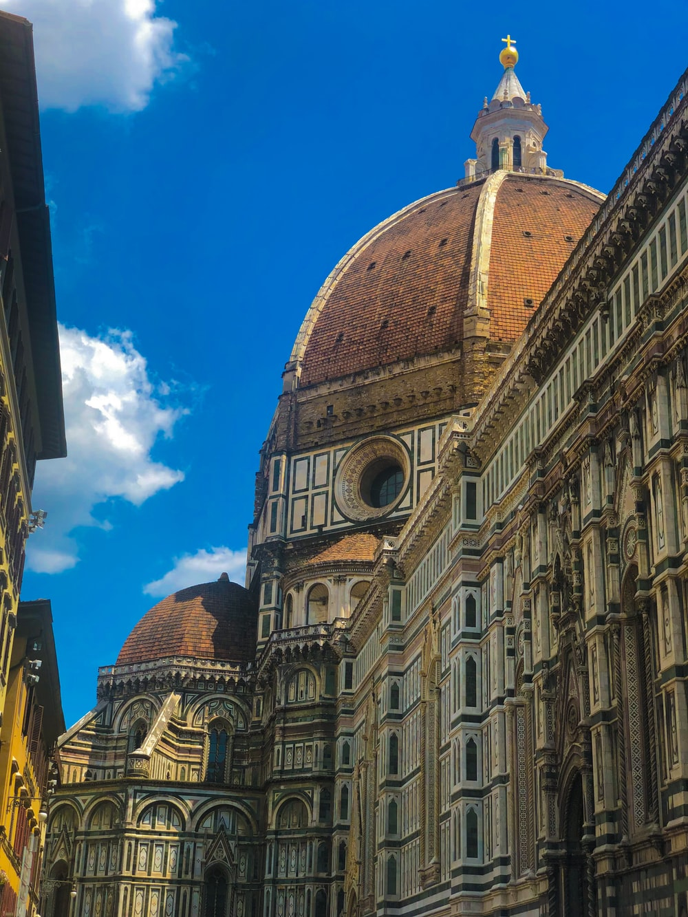 Florence Cathedral, Italy under blue sky