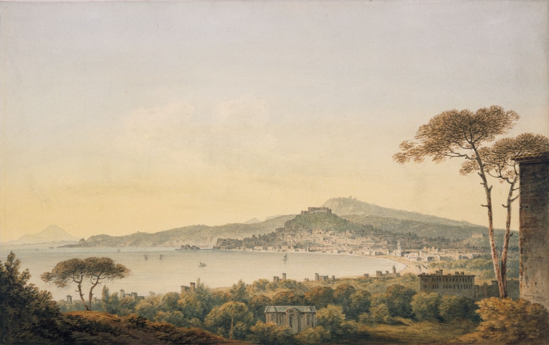Naples From Sir William Hamilton's Villa, 1780-1782 by John Warwick Smith
