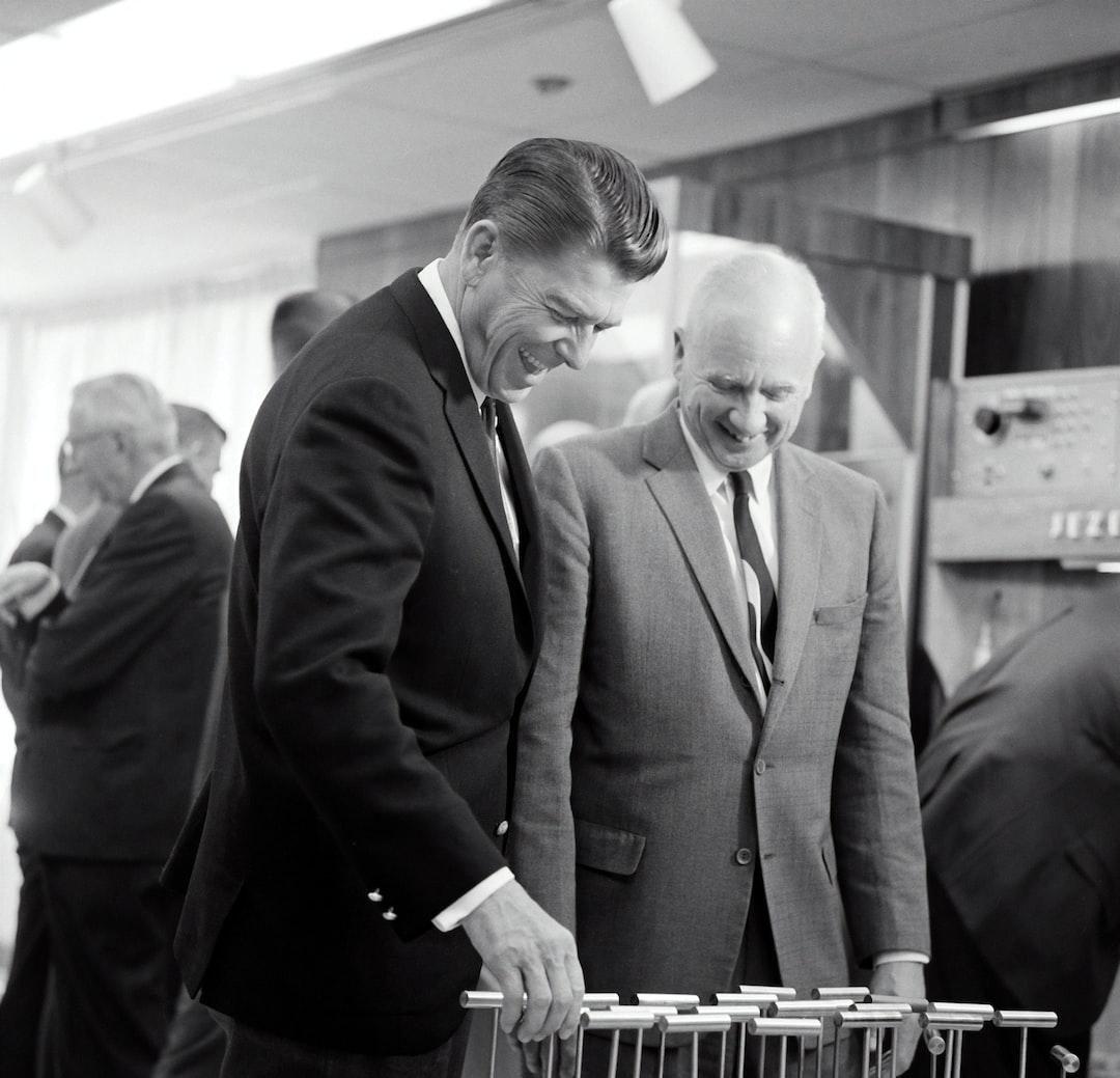 Governor of California, Ronald Reagan Visits With Director Norris Bradbury At Los Alamos In 1967. - unsplash
