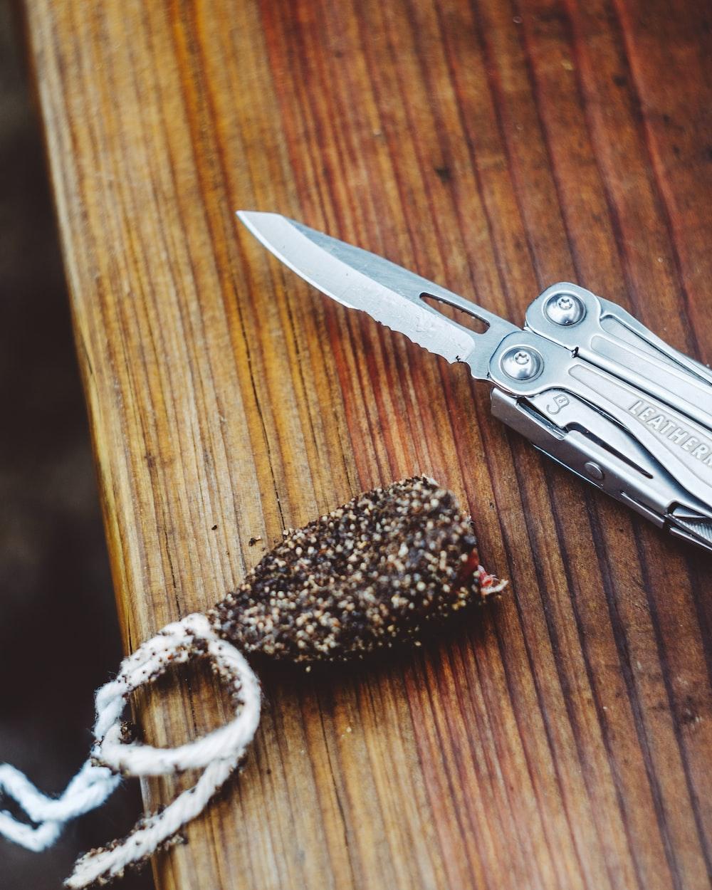 grey butterfly knife