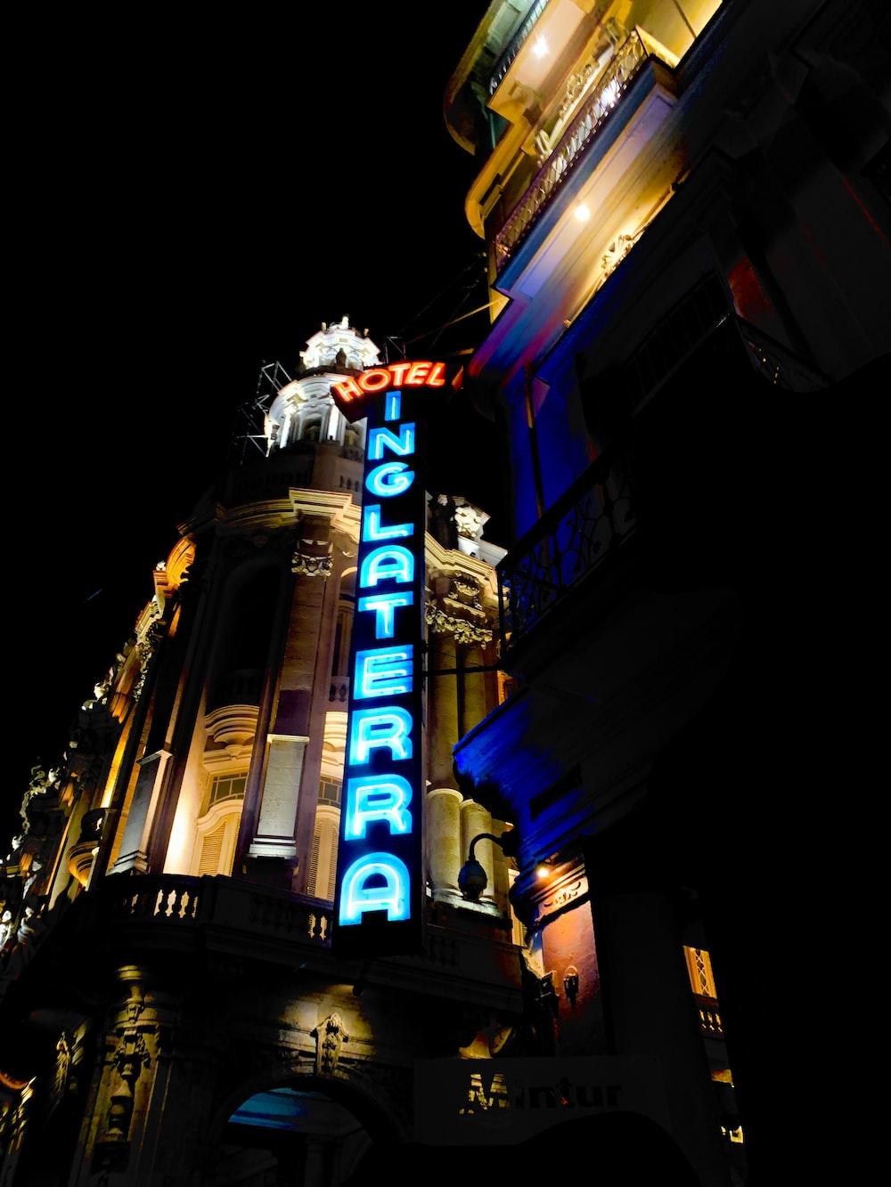 Hotel Inglaterra LED signage